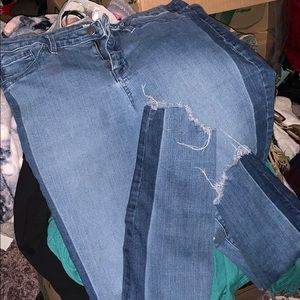 Target stretch jeans